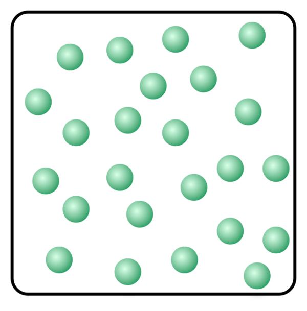 Partikler i gassfase